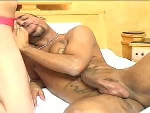 Hot tranny Sueva craves a dick inside her ass at all times and she is nasty AF