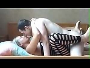 hard doggy fuck with my blonde gf at home