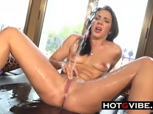 Teen squirting all over the place Like You've