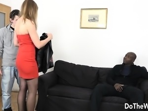 Housewife Takes a Black Cock Up Her Ass