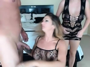 German amateur has her first threesome