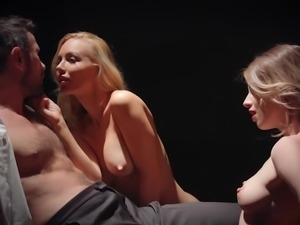 Two Hot Dancers Fucking on The Stage
