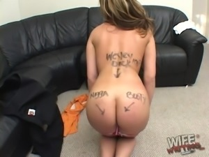 Huge brown dong is all Gia Paloma craves to suck on