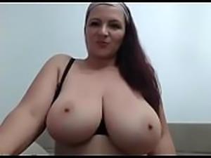 Chubby shaking her huge tits free live cam - watchfreewebcam.com
