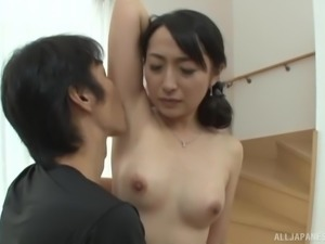 Takita Eriko is a shy woman who loves being fucked hard