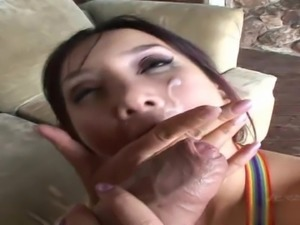 Katsuni is a gorgeous redheaded Asian, who prefers getting her tight asshole...