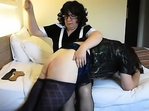 Spanking Mature In Vigorous Fetish Domination