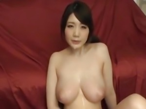 Asian Big Boobs bukkake