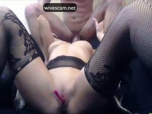 My sweet looking girlfriend is a sex addict whose cock-love is amazing