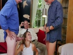 Old sexy woman Molly Earns Her Keep