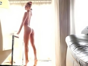 It is time for yoga with all nude and sexy flexible babe Jati