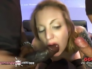 Kitty's Gangbang - German Goo Girls