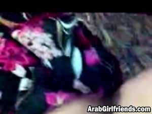 Arab chick banged by her friend