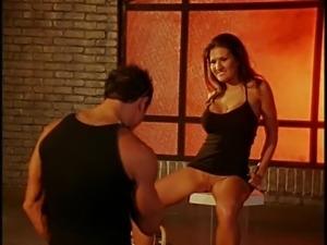 Sexy Austin Kincaid awarding huge dick with superb blowjob