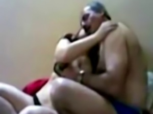 Lovely Arab girl pleasuring horny dude