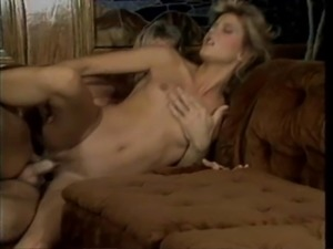 Room cherished with moans as Ginger Lynn pussy gets licked