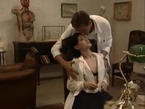 Doc fucks the nurse - German
