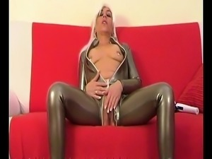 MILF Latex Catsuit