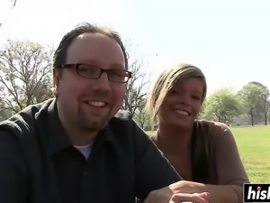 Kristal Summers loves his big boner