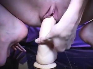 Small Lil oriental toying her wet pussy