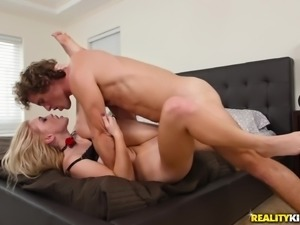 Anastasia Knight is a cute blonde fucked hard by a horny lover