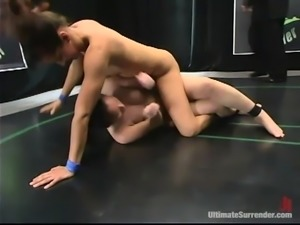 Two divine and kinky babes are going to fight hard