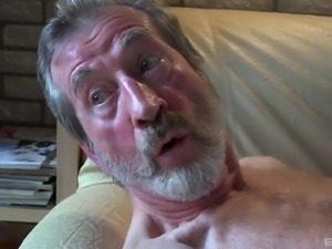 Daisy Cake is a cute girl who cannot resist an elderly man's dick