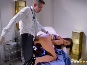 Amirah Adara's tight anal hole is all a doctor wants to examine