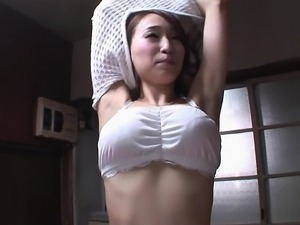 Kurea Hasumi wears a hot outfit while riding a stiff dong