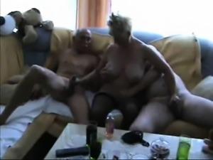 Blonde MILF doggystyle fucks a big cock
