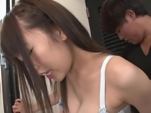 Cunt craving hunk attacks a hot babe for a sex session