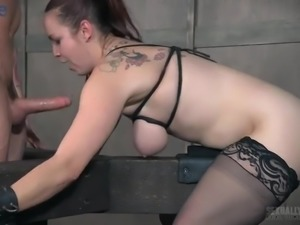 Bella Rossi gets off on being dominated and she is a pain slut