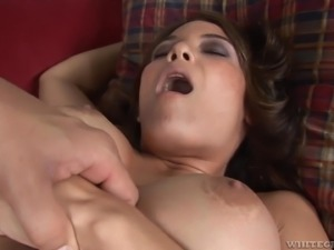 Gorgeous Ryder Skye wants to ride a lover's fat penis