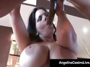 BBW Angelina Castro Gives An Expert Blow Job For Boyfriend!