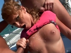Kathia Nobili is the slutty girl that every guy thinks twice about bring with...