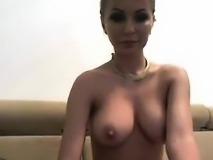 Big boobs amateur blonde girl tricked by driver and fucked