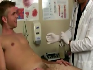 Gay male physical exam balls soccer He seemed all too