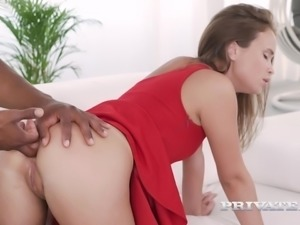 jenny ferri, debuts for private with an interracial anal
