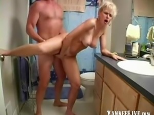 Big tits mature moans for more pounding