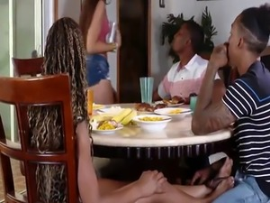 Family strokes game night full Adriana is a supreme black cutie with a