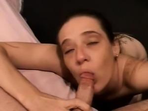 Handjob milf tugs dick pov before cumshot