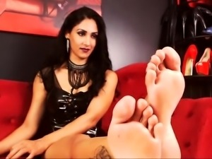 Foot Fetish In Latex