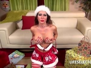 Jessica Jaymes - Christmas DeepThroat MILF
