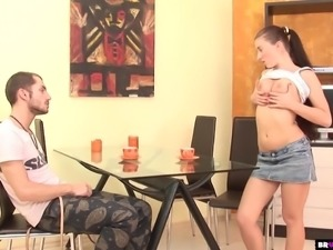 Babe Liana Gets Ass Roughed Up By Big Cock