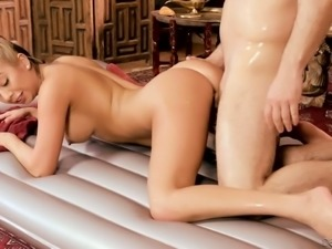 Kat Dior is a spicy hot masseuse who is always up for some hot sex