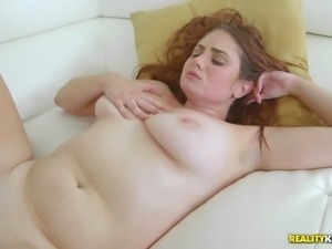 plump whore lennox luxe takes the cock as her natural jugs jiggle