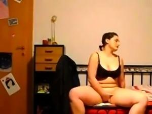cute darllenee flashing boobs on live webcam