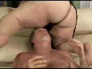 Ardent BBW Angelina loves to impress her own man with a nice titfuck