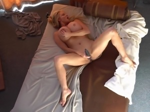 Kelly Madison lets a fellow fuck her between her nice boobs