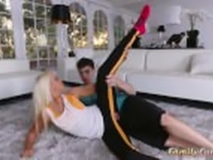 Teen family sex Stretching Your Stepmom